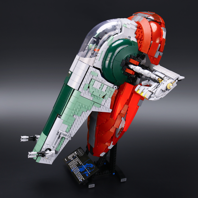 In-Stock New LEPIN 05037 UCS Slave I Slave NO.1 Model 2067pcs Building Block Bricks Toys Kits Compatible 75060 Children Gifts