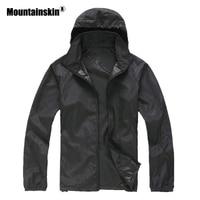 New Men's Quick Dry Skin Jackets Women Coats Ultra-Light Casual Windbreaker Waterproof Windproof Brand Clothing SEA211 Jackets
