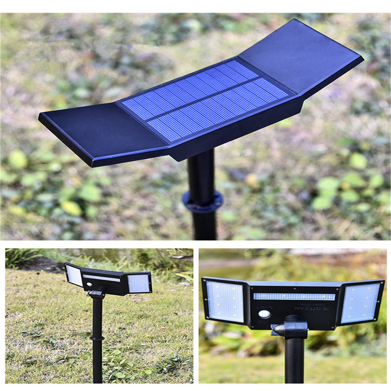 Outdoor Solar Light Solar Lawn Light Garden Lamp Waterproof Yard Path Lawn Lamp PIR Motion Sensor LED Spotlights stainless steel solar lawn light waterproof led solar lawn lamp outdoor garden yard lamp wedding party christmas lawn lamps