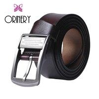 ORINERY Hot Sale 100 Genuine Leather Belt Men 2018 New Designer Belt High Quality Metal Belt