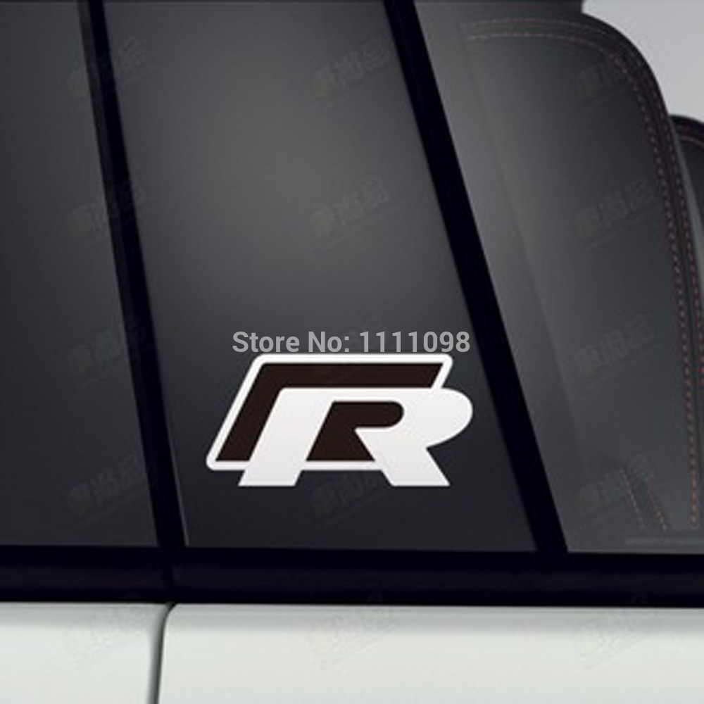 Design a car decal online - 4 X Newest Design Car R Any Body Decoration Stickers Car Decals For Vw Volkswagen Passat