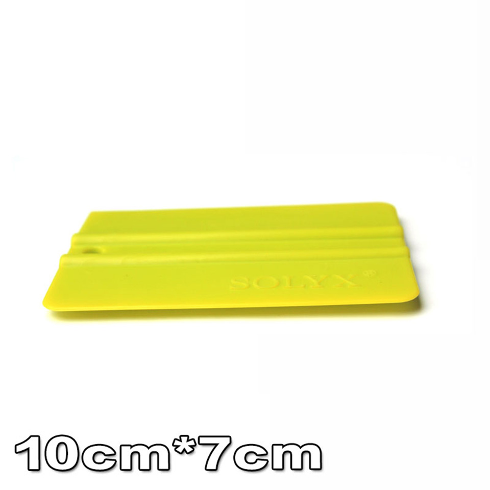 Image 2 - Good Quality Vehicle Wrap Applicator 10*7.5cm Bump Cards Green Solf Squeegee For Car Wrapping C 71 Whole Sale-in Car Stickers from Automobiles & Motorcycles