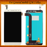 100% Working Well For General Mobile GM5 Plus LCD Display Digitizer Glass sensor Replacement For General Mobile GM 5 Plus
