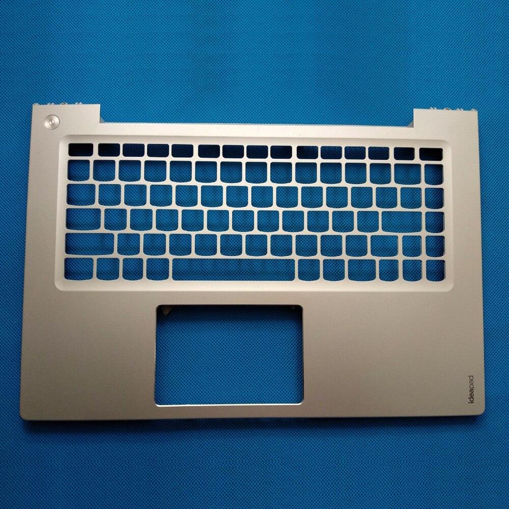 New Original Laptop Keyboard Cover Palmrest Bezel Upper Shell Lid For Lenovo IdeaPad U430P U430 Silver