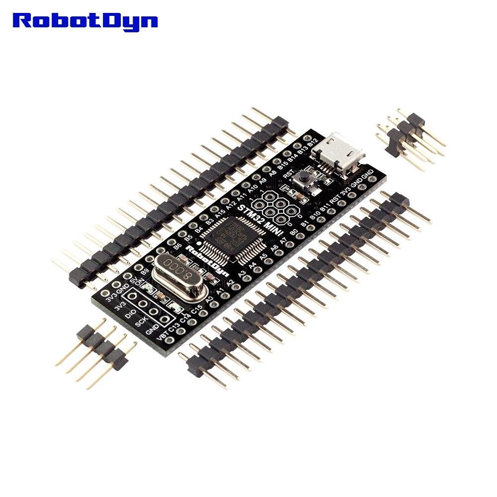 Черный таблетки STM32F103C8T6 (64KB) и APM32F103CB (128KB), Совет по развитию STM32/APM32 ARM Cortex-M3