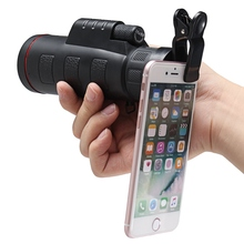 Cheap price HD Clip-on 35 X 50 Optical Zoom Telescope Camera Lens Monocular Universal For iPhone for Smasung Xiaomi Huawei Mobile Phone Lens