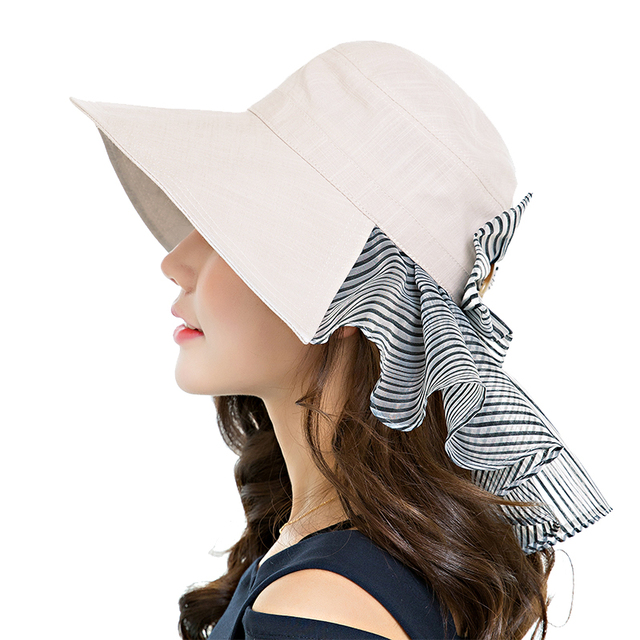 2017 Hot Style Women Spring Summer Beach Cap Top Quality Sun Hat Casual  Folding Straw Fashion Travel Accessories Free Shipping 5e9d78ae982