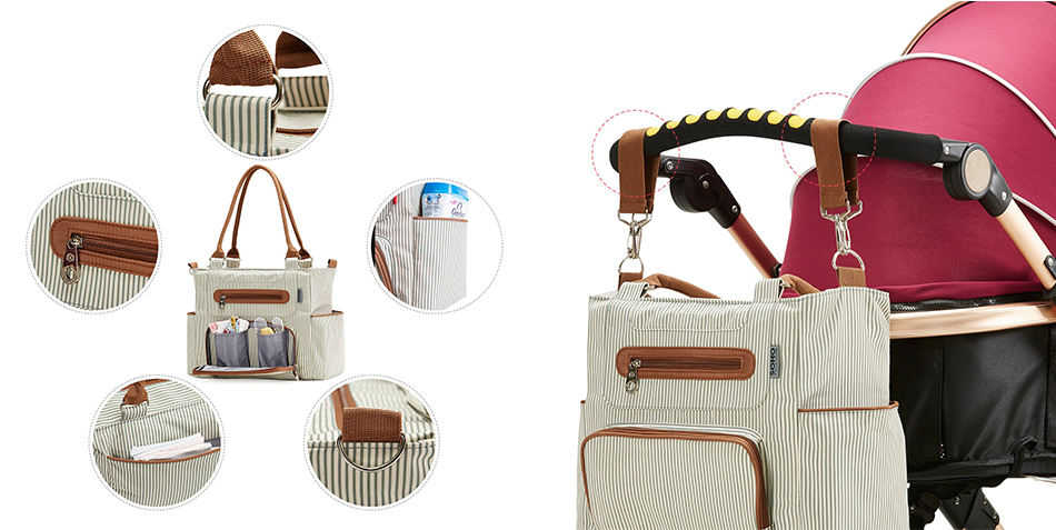 Soho Diaper Bag Set