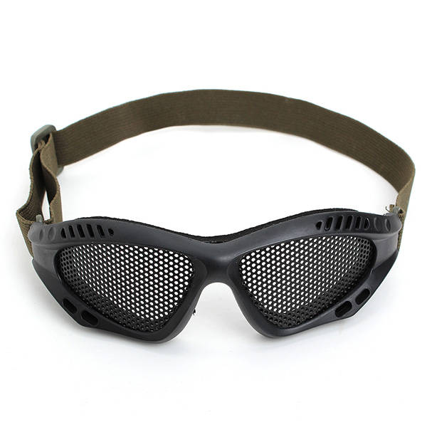 Airsoft Outdoor Tactical Goggles Mask Safety Protect Glasses Metal Mesh Eyewear Security Protection Supplies Safety Goggles pyramex safety pmxcite eyewear