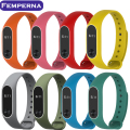 Xiaomi Mi Band 2 Strap For Mi Band 2 Silicone Strap Bracelet Replacement Wristband Smart Band Accessories Dual Color New Belt