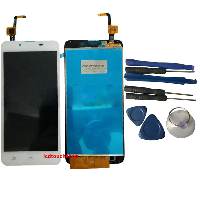 New LCD Display For TXDT500QYPA-95 With Touch Screen For PC.0500-0502-E06  Digitizer Assembly Replacement With Tools White BlackNew LCD Display For TXDT500QYPA-95 With Touch Screen For PC.0500-0502-E06  Digitizer Assembly Replacement With Tools White Black