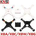 Syma X8 X8C X8W Extra cobertura do corpo principal para Quadcopter Drone acessórios peças de reposição originais 2.4 G 6 eixos aeronave RC X8A X8G gabinete