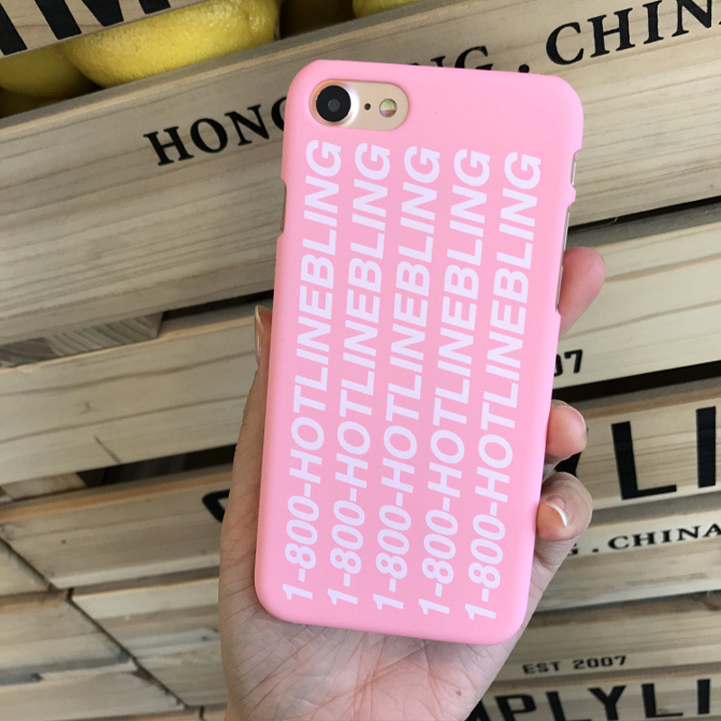 brand new eff75 fb10d US $17.99  Poor Crying Drake Hotline Bling Case Cover For Apple iPhone 6 6S  7 Plus Phone Case For iphone 5 5S 5SE Case Hard PC Scrub Fundas on ...