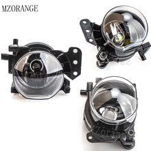 MZORANGE Front Fog Light Fog Lamps For BMW E Halogen/LED Bulb No Bulb For BMW E60 E90 E63 E46 323i 325i 525i 1/2pcs LH/RH цена