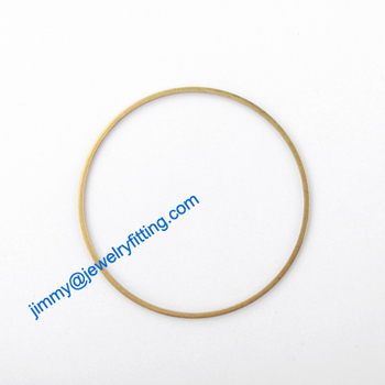 2000PCS Raw Brass Circle 40*1*1mm  copper Rings jewelry findings Conntctors Quoit