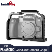 SmallRig Cage For Panasonic Lumix DMC G85 G80 Specially Designed Aluminum Alloy Lightweight And Rugged 1950