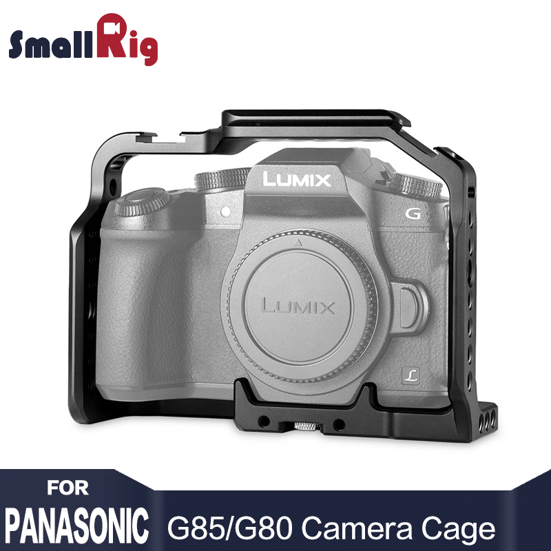 SmallRig DSLR Camera Cage for Panasonic Lumix DMC-G85 / G80 Specially Designed Aluminum Alloy Lightweight and Rugged - 1950
