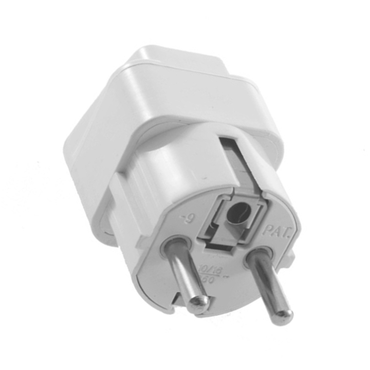 Universal AU US UK to EU AC Power Plug Travel Home Converter Adapter Wholesale