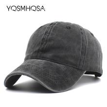 Vintage Baseball Cap Men Snapback Cotton Women Summer Baseball Hat Solid Black Dad Hat Bone Outdoor Sports Caps Sun Hats WH004 цена в Москве и Питере