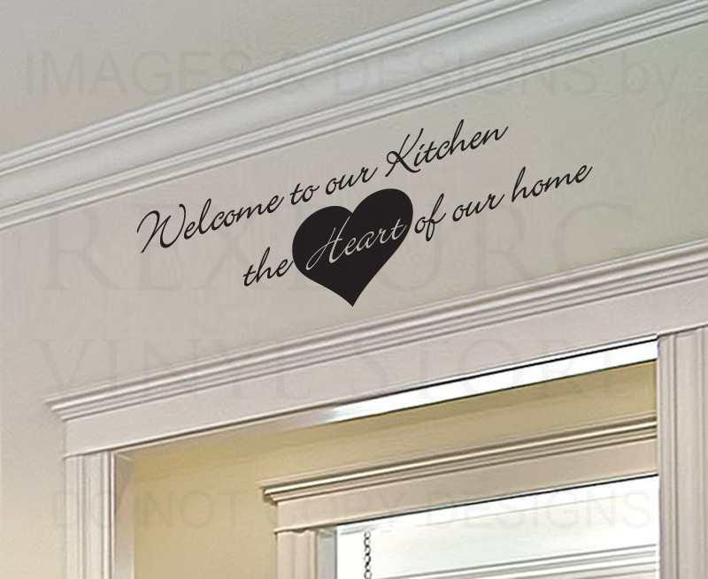 Compare Prices On Large Kitchen Wall Decals Quotes Online - Custom vinyl wall decals sayings for kitchen