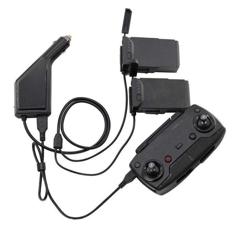 3-in-1 Mavic Air Car Charger Accessories Remote Control Charger for DJI Mavic Air transmitter Controller Charger 3 in 1 mavic air car charger accessories remote control charger for dji mavic air transmitter controller charger