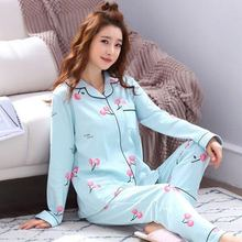 Print 7pcs Pajamas Sets Women Sleepwear Silk Satin Pyjamas Set Long Sleeve Winter and Summer Full 2019