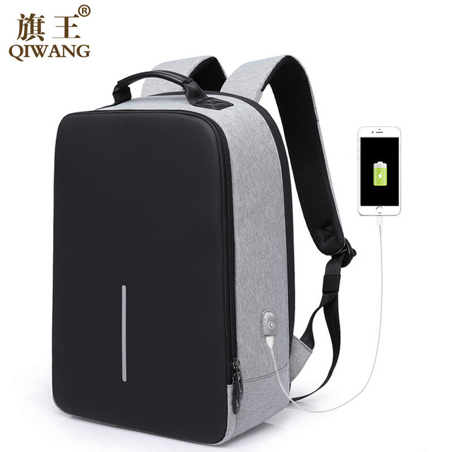 Business Backpack For Men Laptop Fashion Backpack Travel Multifunction USB Charging Anti-thief Backpack Urban School Shoulder