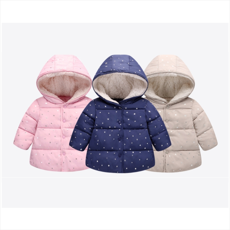 New Kids Toddler Boys Girls Jacket Coat & Jackets For Children Outerwear Clothing Casual Baby girls Clothes Autumn Winter Parkas 2018 autumn winter boys clothing girls clothing vestidos beau loves new christmas kids clothes children jacket coat down