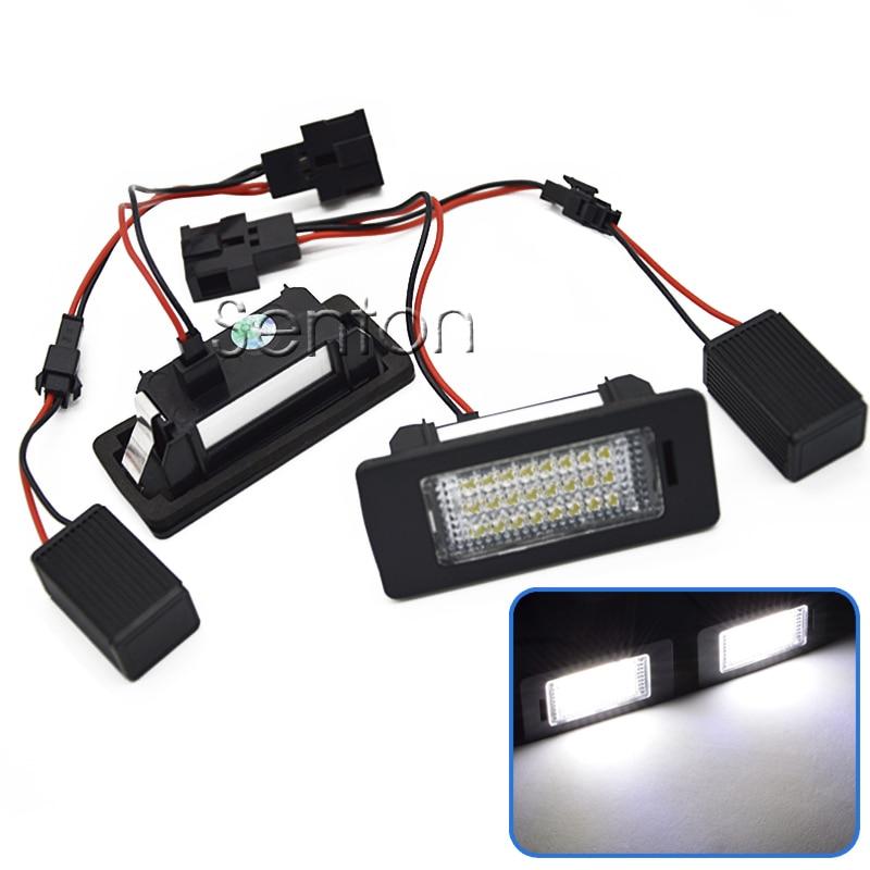 2 ədəd Canbus LED nömrəli lisenziya nömrəli işıq 12V SMD3528, - Avtomobil işıqları - Fotoqrafiya 1