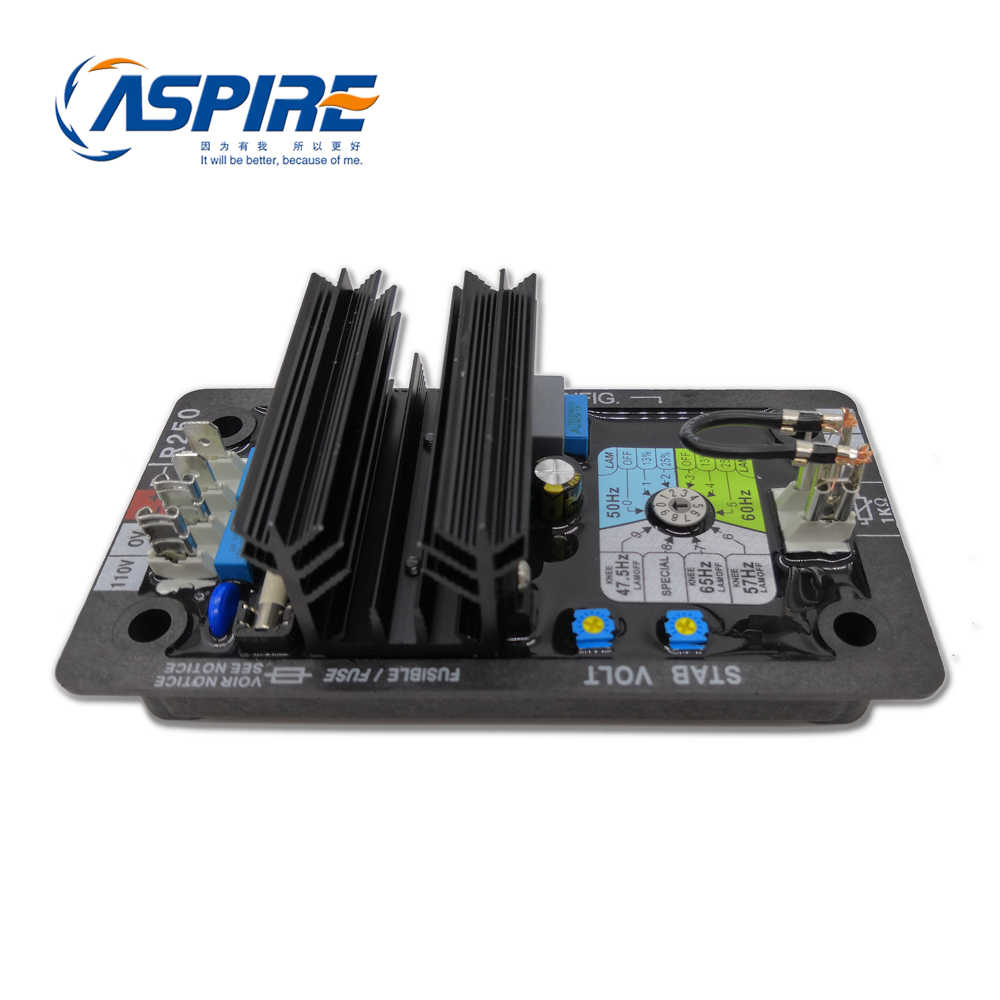 Brushless Type Of Aspire Avr Synchronous Generator Spare Parts Avr R250 Circuit Diagram Of Automatic Voltage Regulator