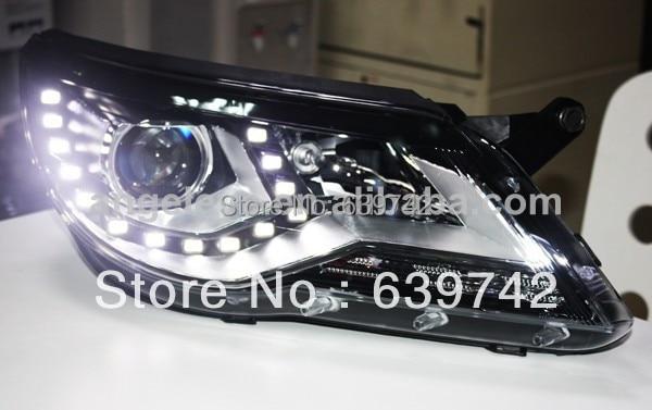 Для VW 2010-2012 року світлодіодні головні - Автомобільні фари - фото 3