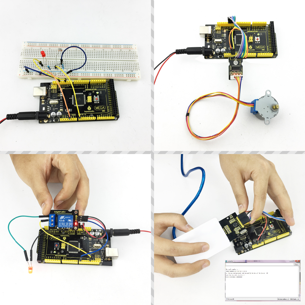 Free shipping! RFID learning kit. upgraded version starter kit for arduino