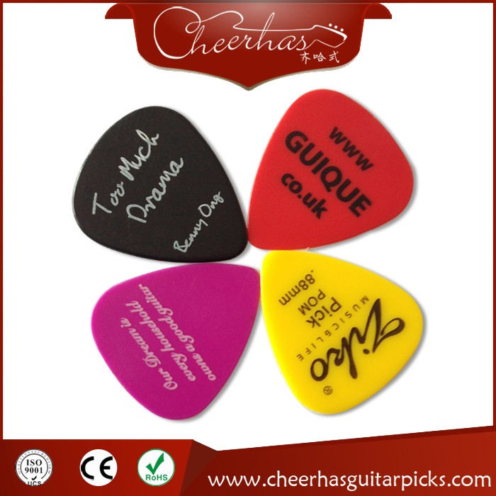Free shipping custom logo guitar pick plectrum with one color logo one side printing 0.71mm hot sale top quality white lp custom guitar with golden hardware electric guitar free shipping white color