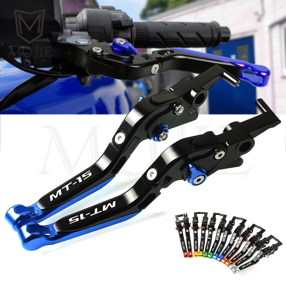 MT MT15 Motorcycle Cnc YAMAHA Brake-Clutch-Lever Adjustable for Folding M-Slazz 150