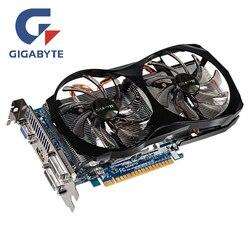 GIGABYTE видеокарта Geforce GTX660 2 Гб 192Bit GDDR5 GPU видеокарты карта памяти Оригинальная для NVIDIA GTX 660 PCI-E карты