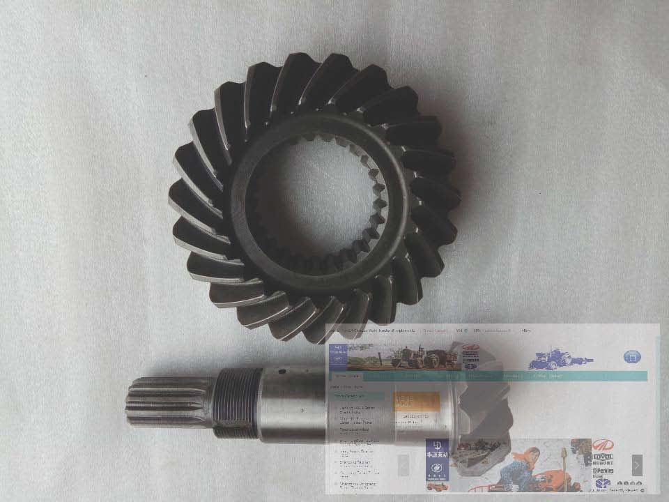 TC02311010020 TC02311010029, Central transmission big bevel gear and Driving bevel gear shaft for foton TB404C ft304 31f 138 ft304 31f 131 the mid driving bevel gear and main bevel gear for foton lzt tractor ft304 454 lzt304 lzt454