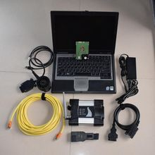for bmw icom next wifi with software expert mode 500gb hdd windows 7 ista/d ista/p with laptop d630 ram 4g ready to use