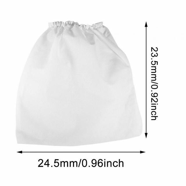 10PCs Nail Non-Woven Vacuum Cleaner Replacement Bags For Nail Art Dust Suction Collection Salon Nail Art Tool Manicure Accessory