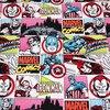 140X100cm Marvel Super Hero Alliance Cotton Fabric For Clothes Sewing Decoration Patchwork DIY AFCK111