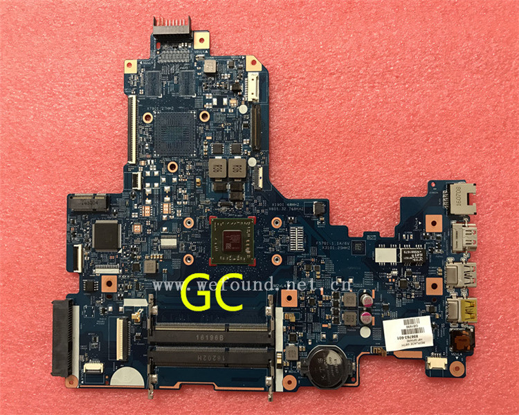 laptop Motherboard For 17-Y E2-711 856763-601 856763-001 system mainboard Fully Tested laptop motherboard for 4515s 4415s 585219 001 system mainboard fully tested
