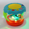 Emisor de Luz dinámica Música Tambor 6 Funciones Rompecabezas Infantil Educativa