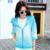 Venda quente 2016 Verão moda rainbow color UV Sol Roupas de Proteção Feminina Jaqueta Com Capuz Fino Respirável Praia Cardigan casacos