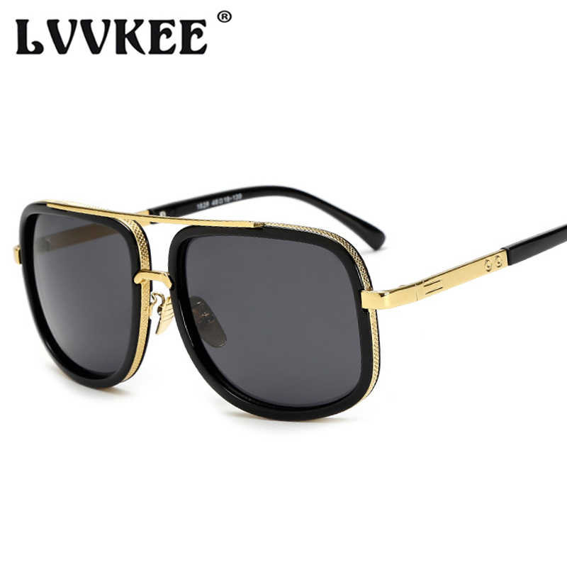 b6ac8c64e1fe ... Classic Oversized Men Sunglasses Luxury Brand Women mach one Sun Glasses  Square retro Oculos de sol ...