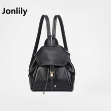 Jonlily High Quality Split Leather All-match Women's Fashion Backpack Trend Go To Work Go Shopping Leisure Time Simple-GL008