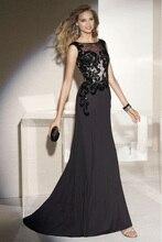 2016 neue Mode Elegant Ärmellose Appliqued Mutter der braut kleid Sweep trailing abendkleider Vestidos Plus Größe