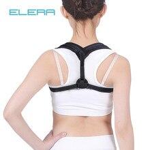 ELERA ajustable clavícula correa de soporte de la parte superior de la  espalda Corrector de postura 79784400944e