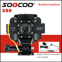 SOOCOO S80 Wifi 1080P Action Camera 1.5 Screen Waterproof 10M Video Starlight Night Vision Support Microphone Sports DV Camera