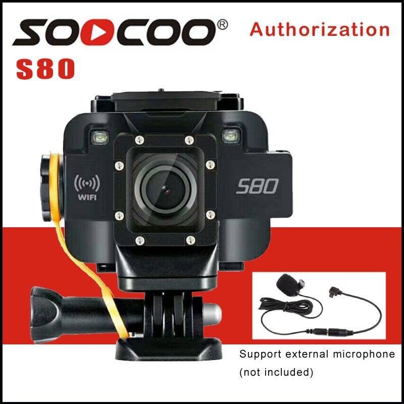 SOOCOO S80 Wifi 1080 p acción Cámara 1,5