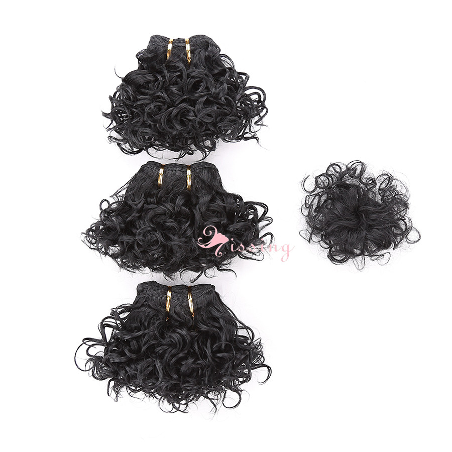 Cheap deep curly weave extension sew in blended black hair weaving cheap deep curly weave extension sew in blended black hair weaving wefts with closure very short hair bundles for black women on aliexpress alibaba pmusecretfo Gallery