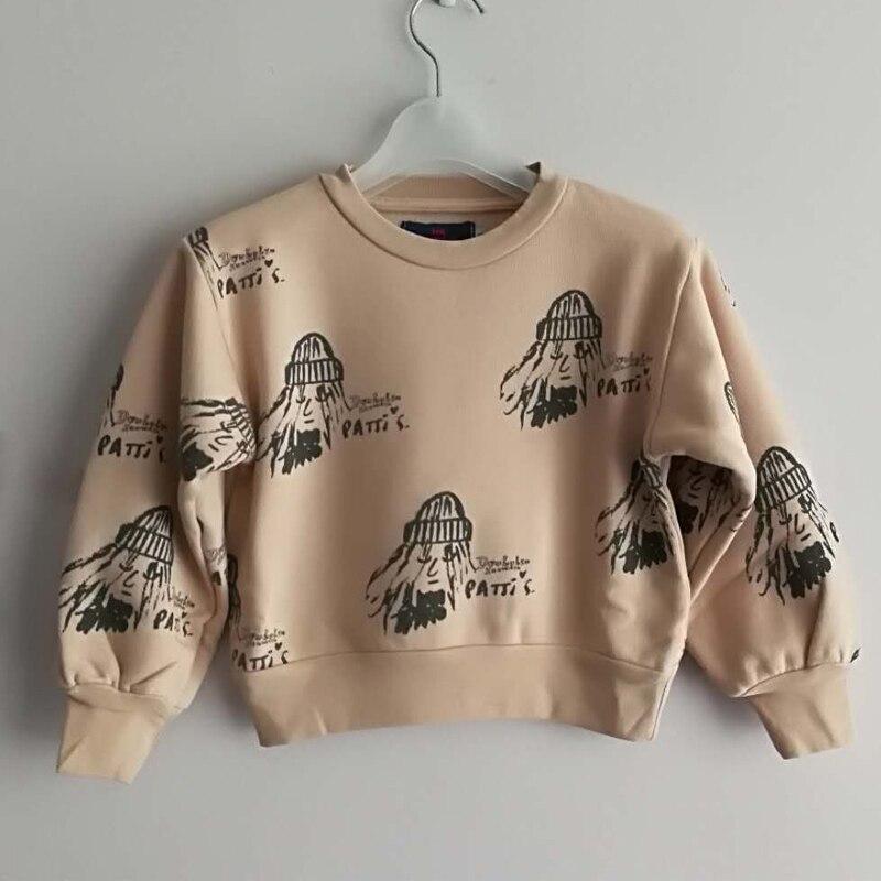 KIDS SWEATSHIRT Bobo Choses 2017 Autumn Winter Boys Clothes Girls T shirt Tao Animals Cotton Baby Tops Shirt children clothes